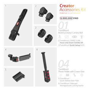 Crane 3 LAB Creator Accessories Kit