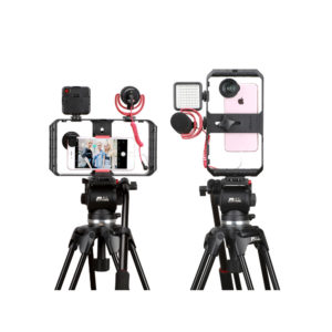 Smartphone Video Rig/Grip FUBA1 (Dụng cụ hỗ trợ quay trên Điện Thoại)