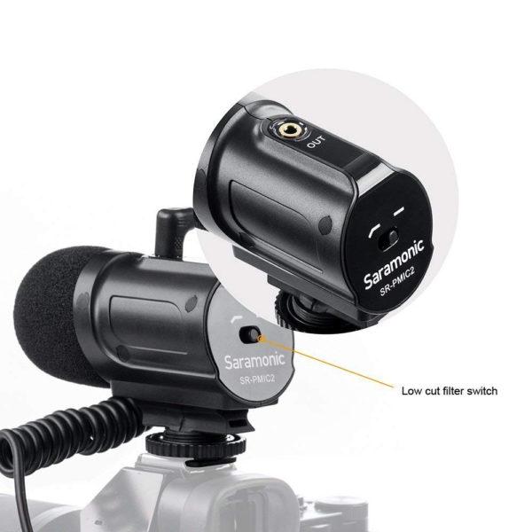 Saramonic On-camera Shotgun Microphone SR-PMIC2 (FS342)