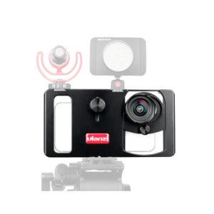 Smartphone Video Rig/Grip FUBA2 (Dụng cụ hỗ trợ quay trên Điện Thoại)