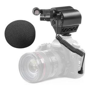 Saramonic Vmic Stereo – Thiết bị Thu Âm cực đỉnh dành cho Camera (FS324)