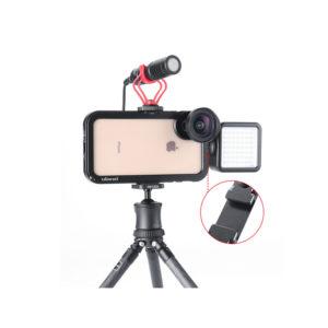 Smartphone Video Rig/Grip FUBA3 (Dụng cụ hỗ trợ quay trên Điện Thoại)