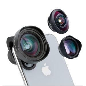 Lens dành cho điện thoại-Ulanzi 16mm Wide Angle Lens with CPL FULA1