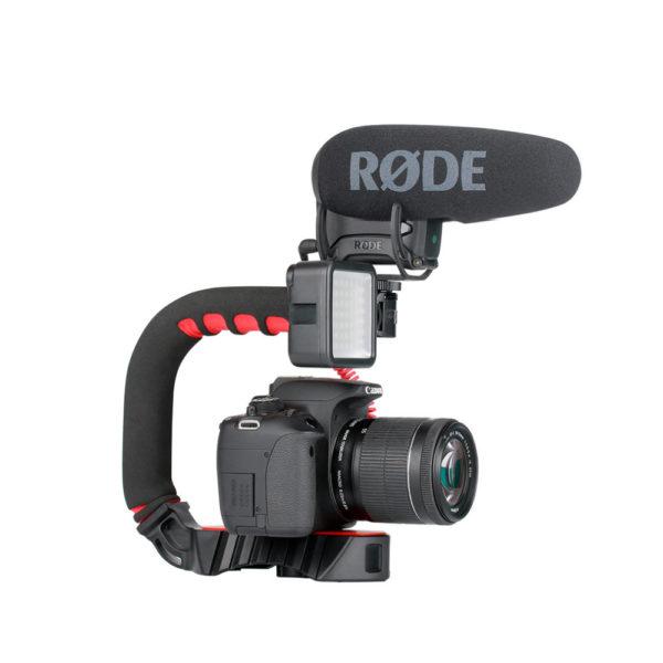 Smartphone Video Rig/Grip FUBB1 (Dụng cụ hỗ trợ quay trên Điện Thoại)