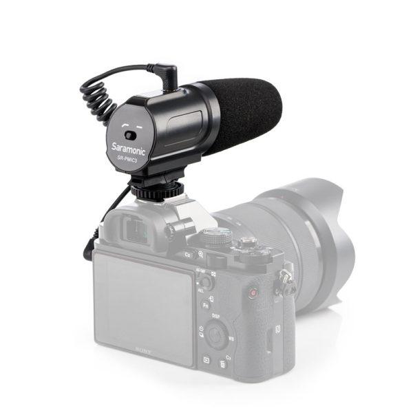 Saramonic On-camera Shotgun Microphone SR-PMIC3 (FS343)