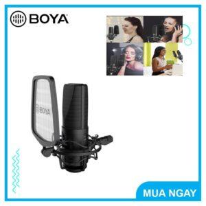 ll Boya BY M1000 ll Chuẩn phòng thu âm trầm ấm – Microphone thu âm chuyên nghiệp (FB491)
