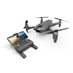 [New] Flycam MJX MEW4-1 – Gập cánh lại rất gọn nhẹ, Camera chuẩn 2K,trục Gimbal xoay 180 độ, Cảm Biến Bụng, Kết Nối Wifi 5G