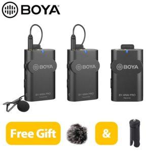 Bộ micro thu âm không dây BOYA BY – WM4 PRO K2