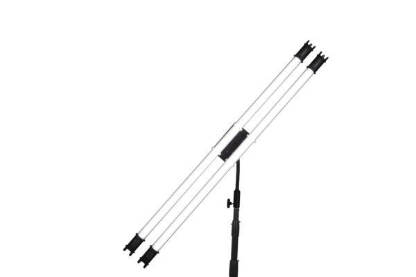 NANLite Accessories – T12 holder for 2 tubes Ball Head Yoke with Gooseneck – Phụ kiện (FNC32)