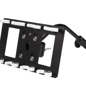 NANLite Accessories –  T12 holder for 4 tubes Ball Head Yoke with Gooseneck – Phụ kiện (FNC31)