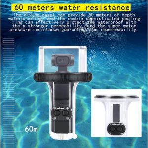 Hộp chống nước dùng cho Osmo Pocket waterproof case Ulanzi chống mưa lặn biển (FUEE9)