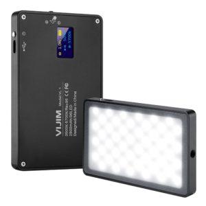 Đèn LED Ulanzi 96 Bóng hỗ trợ quay phim thiếu sáng, Chỉnh cường độ ánh sáng dễ dàng.