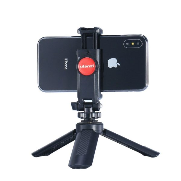 Ngàm kẹp điện thoại Ulanzi sang trọng và chắc chắn dễ dàng sử dụng – Ulanzi ST-06 (FUAK1)