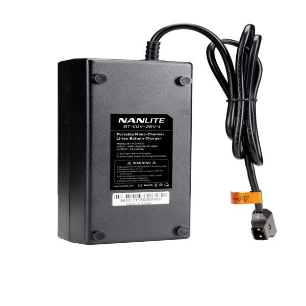 Battery Charger for Single 26V V-mount Battery (BT-CGV-26V-1)