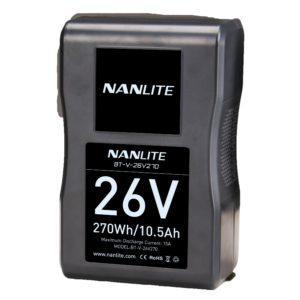 Pin Sạc V-Mount Công Suất Cực Khủng Của NanLite (BT-V-26V270)