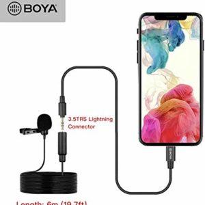 BOYA BY-M2 Micro thu âm cài áo. Tương thích hệ thống iOS 8.0 trở lên (FB234)