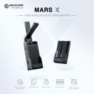 Hollyland Mars X – Thiết Bị Truyền Hình Ảnh Không Dây nhỏ gọn chỉ 112g