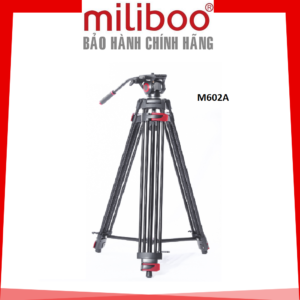 Double Tubes Tripod M602A (Aluminum) – Chân Máy Đôi Chính Hãng Miliboo Monopod (FM22A)