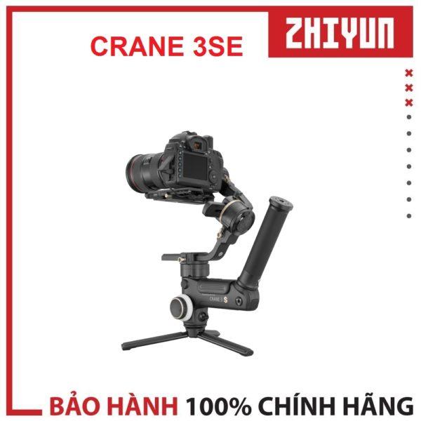 Zhiyun Crane 3SE – Chính thức có mặt tại Việt Nam_Phong Độ _ Đẳng Cấp_Chuyên nghiệp. Tải trọng lên đến 6.5kg