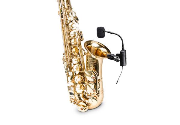 ACEMIC ST-5 Micrô không dây di động ngoài trời cho Saxophone, Micrô biểu diễn sân khấu/nhạc cụ không dây