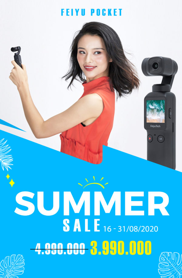 (Hot Sale) Feiyu Pocket – Chiếc Pocket Rẻ nhất hiện tại !!!