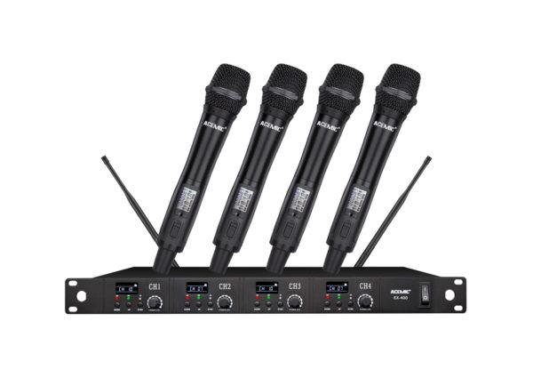 ACEMIC EX-400 Hệ thống micrô saxophone không dây 4 kênh