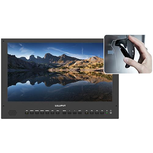 """Lilliput BM150-4KS – Màn hình 15,6 """"4K với 3D LUTS và HDR"""