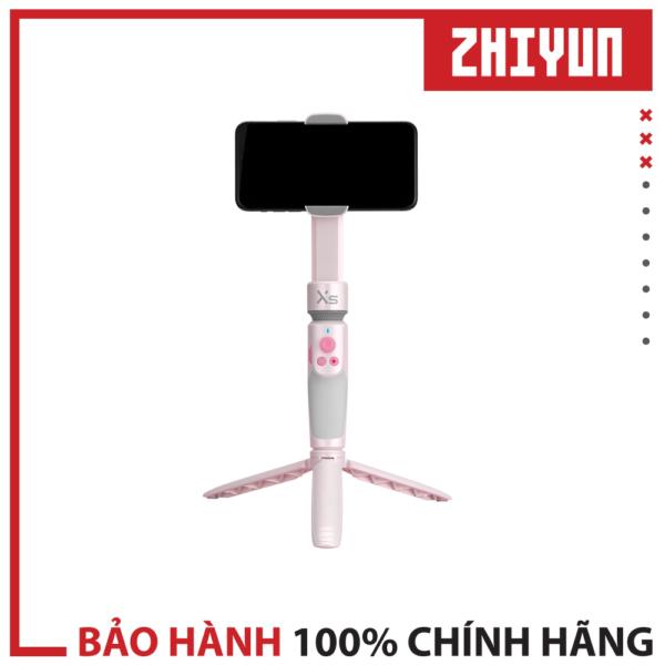 Zhiyun Smooth XS với khả năng thiết lập cực nhanh, gấp trượt tiện lợi, màu sắc cá tính (Pink)