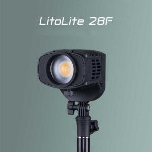 NanLite LitoLite 28F 5600K 28w LED Fresnel có thể lấy nét