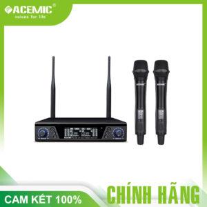 ACEMIC EX – 200 Micrô không dây UHF chuyên nghiệp với 200 tần số để lựa chọn