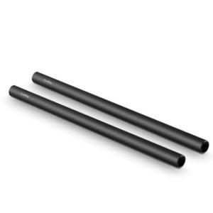 Phụ Kiện Quay Phim Cho Máy Ảnh SmallRig 2pcs 15mm Black Aluminum Alloy Rod(M12-30cm) 12inch NRUSW1 – 1053