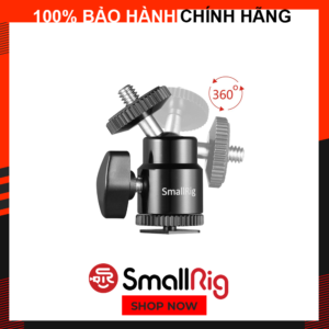 Giá Đỡ Màn Hình Quay Phim SmallRig 1/4″ Camera Hot shoe Mount with Additional 1/4″ Screw (2pcs Pack) NRUP2 – 2059