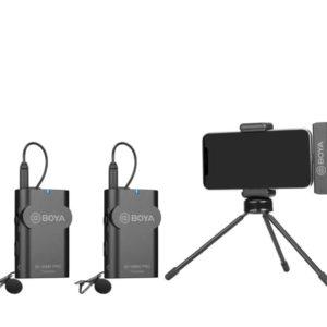 BOYA BY-WM4 PRO-K4 is 2.4GHz wireless microphone system (FB145)
