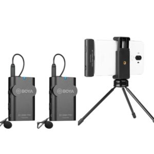 BOYA BY-WM4 PRO-K6 is a digital plug-in 2.4GHz Wireless system (FB147)