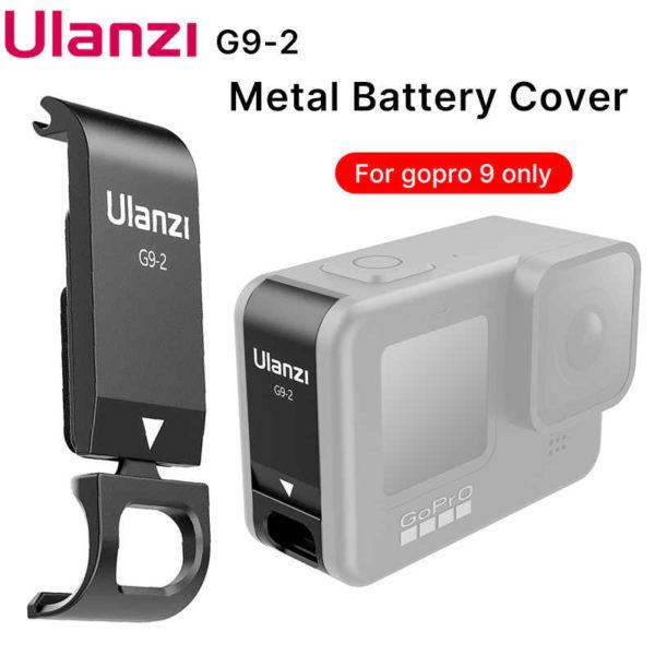 ULANZI G9-2 METAL GOPRO HERO 9 CHARGEABLE BATTERY LID (FUECT)