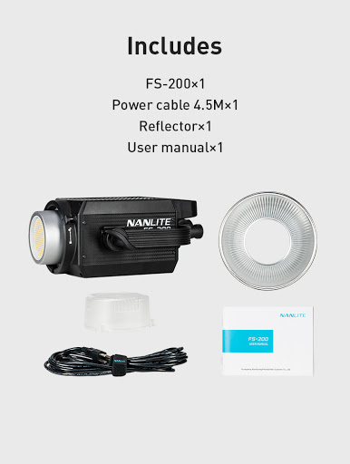 Nanlite FS-200 Led Daylight Spot Light (FN131)