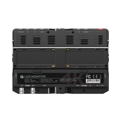 Lilliput H7 – 7″ 4K 1800 cdm² Sunlight Readable Monitor