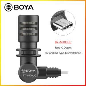 BOYA M100UC cổng Type – C Mic thu âm Plug-in dành cho điện thoại Android