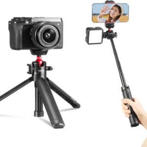Chân Tripod xoay 360° cho Điện thoại và Máy ảnh – Ulanzi MT-16 (FUCAG)