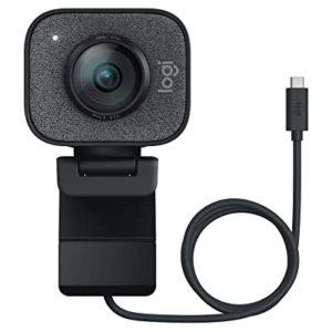 Logitech StreamCam – Webcam Livestream Chuyên Nghiệp, Độ Phân Giải 1080 FullHD/60 Fps