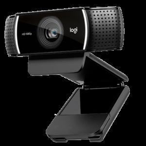 Logitech C922 – Webcam truyền trực tuyến với HD 720p siêu nhanh ở tốc độ 60 fps (IPLC1)