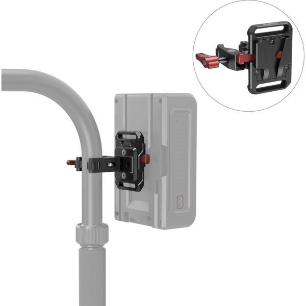 Giá đỡ Pin tích hợp Kẹp càng cua dành cho các loại Pin V Mount – SmallRig 2989 (NRUS7)