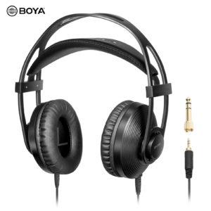 BOYA BY-HP2/DF – Tai nghe giám sát chuyên nghiệp dành cho Điện thoại/Laptop/Máy ảnh