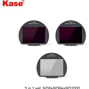 """Kase – """"3in 1 Set I"""" Clip-in Filters for Canon R5/ R6 Mirrorless Camera (FCSCK)"""