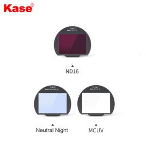 "Kase – ""3in 1 Set II"" Clip-in Filters for Canon R Digital Camera (FCSDL)"