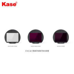 "Kase Clip-in 3in1 set ""ND8, ND64, ND1000"" for Fujifilm GFX 50R (FCSGK)"