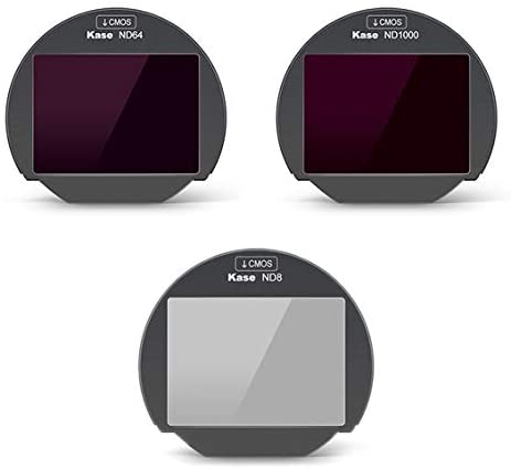 """Kase Clip-in 3in1 set """"ND8, ND64, ND1000"""" for Fujifilm X (FCSFK)"""
