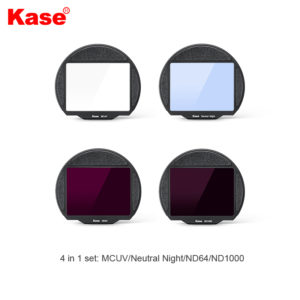 """Kase – """"4in 1 Set"""" Clip-in Filters for Canon R5/ R6 Mirrorless Camera (FCSCM)"""