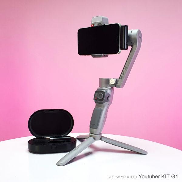 "Youtuber Kit G1 ""Smooth Q3 + WM3U"""