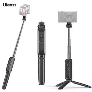 ULANZI MT-40 – Chân Tripod với điều khiển Bluetooth không dây có thể tháo rời, Ballhead xoay 90°